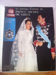 POINT DE VUE mariage Michel de Grece Marina Karella Elizabeth en Afrique in Livres, BD, revues | eBay