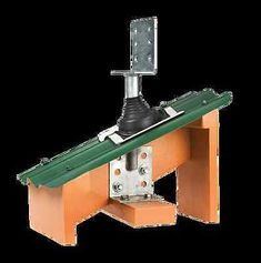 Roof Extenda Bracket MK11 Standard. Ideal for carport, veranda or patio construction. Use to attach timber roof beams to existing structures. Install through existing tile and iron roofs. A do it yourself roof support bracket.