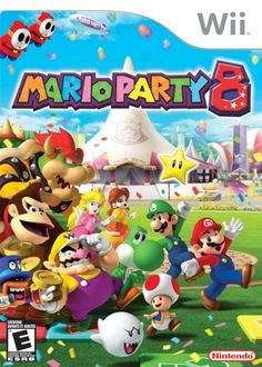 Super Mario is the most popular game ever! Mario Party 8 a game for the Nintendo Wii! Be sure to check out more of my Mario content! Mario Nintendo, Super Nintendo, Nintendo Switch, Mario Kart, Mario Wii, Nintendo Party, Nintendo Games, Playstation, Xbox 360