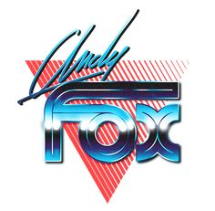 80s Logo Collection by Overglow - Retrofuturistic Artwork, via Behance