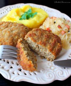 Meatloaf, Salmon Burgers, Cooking Recipes, Health, Ethnic Recipes, Polish Recipes, Cooking, Health Care, Chef Recipes