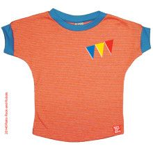 Oranje gestreept T-shirt Parade