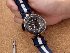 尋找過中的樂趣-NATO篇~如何自行更換Nato錶帶! – 太空人腕時計TW