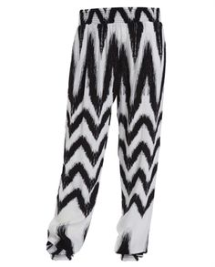 Little Girl`s Zig Zag Pant - Bardot Junior