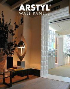 Wall Decoration Tiles Classy Arstyl Wall Panels Stripe  Hh10  Pinterest  Walls Concrete Design Inspiration
