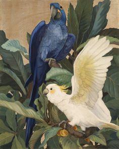 Painterlog.com: Jessie Arms Botke (American artist, 1883-1971)