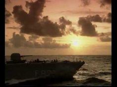 S-fregat Hr.Ms. Philips van Almonde in de jaren '90. Hoor ook het mooie geluid van de gasturbines!