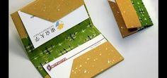 Käyntikorttikotelo-origami