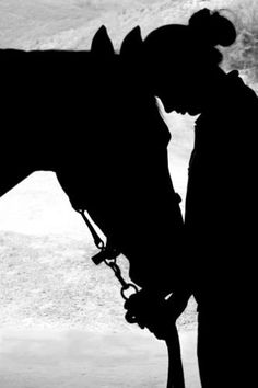 horse and kid silhoutte | Equine Therapy for Children with Asperger's and Autism