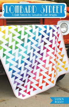 Lombard Street Quilt Pattern by Sassafras Lane