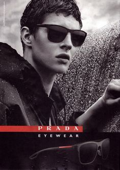Tim Schuhmacher for Prada Fall/Winter 2015 Eyewear Campaign