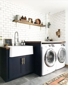 14 Basement Laundry Room ideas for Small Space (Makeovers) Laundry room organization Laundry room decor Small laundry room ideas Farmhouse laundry room Laundry room shelves Laundry closet Kitchen Short People Freezer Shiplap Laundry Room Remodel, Basement Laundry, Laundry Room Cabinets, Farmhouse Laundry Room, Laundry Room Organization, Laundry Room Design, Laundry In Bathroom, Laundry Closet, Laundry Area