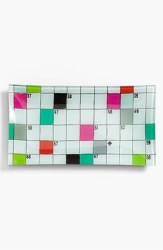 a cute kate spade new york 'say the word' crossword dish |   small and colorful too   @Nordstrom