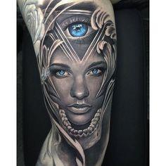 #mulpix Csodálatos művész David Garcia @davidgarciatattoo fantasy világító kék szemek lány portré tetoválás nézet 2! @worldofpencils @sullenclothing @nytimes @victoriassecret @maccosmetics @proartists @bnginksociety @inkedmag @thebesttattooartists #blue #portraits #garcia #davidgarcia #travisbarker #la #girl #tattoo #ink #portrait # 3dtattoo #portraittattoo #sullen #sullenclothing #cali #illuminati #katvond # 3d #nika #illuminatieye #spain #biomechanical #bio #art #artwork #eye #westcoast…