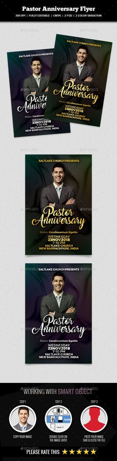 Church Anniversary Flyer  Churches Anniversaries And Flyer Template