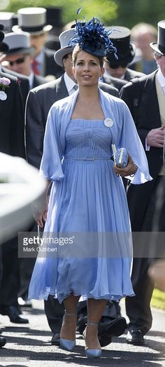 Princess Haya Bint Al Hussein attends Day 1 of Royal Ascot at Ascot Racecourse on June 17, 2014 in Ascot, England.
