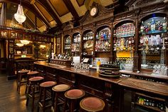 Galway Photos at Frommer's - The bar at the Front Door, sunny by day and vibrant after dark.