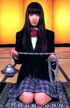 Make your own Gogo Yubari costume from Kill Bill. This school girl costume is a great halloween costume and a great fancy dress costume Quentin Tarantino, Tarantino Films, Costume Halloween, Requiem For A Dream, Death Proof, Film Aesthetic, Film Serie, Movie Characters, Kill Bill Characters