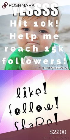 Follow game FULL. 🎊👍🏼🙌🏼 Follow my others! Thank you all!!! I've reached 10k followers!! Help me reach 15k! Like this post, follow everyone who likes it, share, share, share!!!! 🙌🏼 Lets all get more followers!!! Olive & Oak Jewelry Bracelets