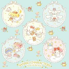 ©Sanrio. Source: dtimes.jp Melody Hello Kitty, My Melody, Sanrio Wallpaper, Hello Kitty Wallpaper, Kawaii Room, Sanrio Characters, Crybaby, Little Twin Stars, Colour Board