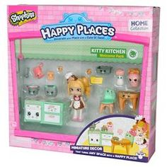 Happy Places Shopkins™ Welcome Pack - Kitty Kitchen : Target