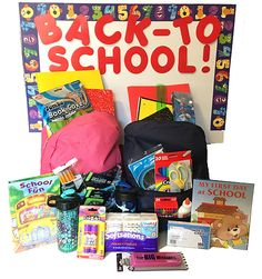 09-3-2017...Back to School Giveaway Prize Pack with Personalized Children's Book. 3 Winners.