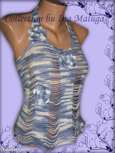 Amazing Crochet Blouses .. Don\'t miss them
