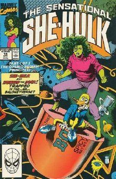 Marvel She Hulk | Marvels The Sensational She-Hulk Issue # 14b Auction your comics on www.comicbazaar.co.uk