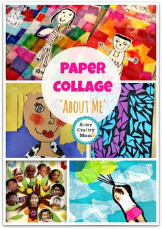 70+ Simple Paper collages Youll love to make now paper Collages self portraits photo