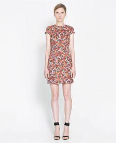 ZARA - WOMAN - PRINTED DRESS 60usd