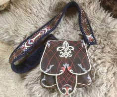 Hunting bag - Woodland - Quillwork Made by Romana Ziemann