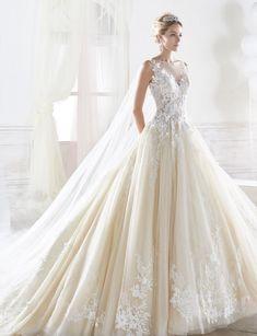 Wedding Dress Inspiration - Nicole Spose Nicole Collection #weddinggowns