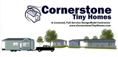 Cornerstone Tiny Homes is a licensed, full-service design/build contractor in Central Florida specializing in custom tiny houses on wheels and on foundation.