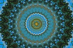 Computer Generated Kaleidoscope Design Pattern Stock Photo ...