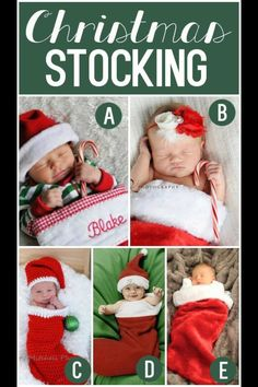 Christmas stocking <3 such a cute idea !