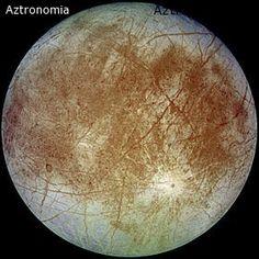 Europa-, luna de júpiter
