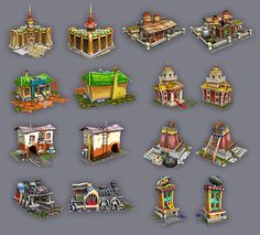 LowPoly model for Games on Behance