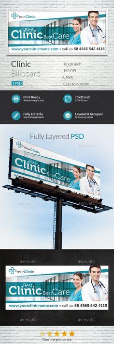 Clinic Billboard Template