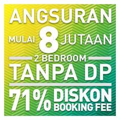 Promo Agustus 2016 Bassura City, mulai 8jutaan* Tanpa DP dan Diskon Booking Fee 71%.