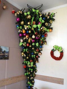 Inspire-se para fazer uma árvore de natal invertida | Catraca Livre