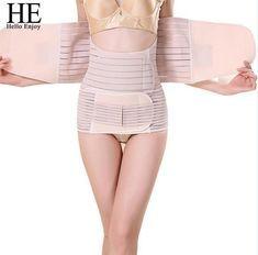 9dcf4eeca35 3Pieces Set Maternity Postnatal Belt After Pregnancy bandage Belly Band  waist corset Pregnant Women Slim Sharpers