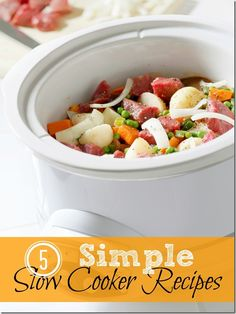 5 {Yummy} Simple Slow Cooker Recipes - Kids Activities Blog