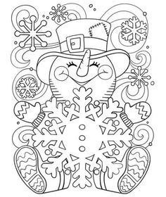 Cute Snowman Coloring Pages Ideas For Toddlers - Free Coloring Sheets snowman coloring pages for adults - Cute Snowman Coloring Pages Ideas for Toddlers Christmas Coloring Sheets, Printable Christmas Coloring Pages, Christmas Printables, Snowman Coloring Pages, Coloring Book Pages, Free Coloring Sheets, Coloring Pages For Kids, Coloring Pages Winter, Cute Snowman
