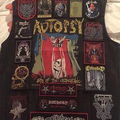molver02 from USA #metaljacket #kutte #bandpatch #bandpatches #battlevest #heavymetal #thrashmetal #denimjacket #patchedvest #deathmetal #metalpatches #metal #wovenpatch #metalmaniacs #metalmaniac #metalvest #metalkutte #metalhead #metalheads #metalgirl #metalheadgirl #slayer #slayerband #slayernation #motorhead #tribulation