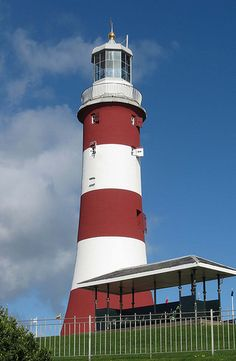Smeaton's Tower, The Hoe, Plymouth, England