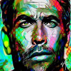 Hope you like it by Ovab art / sketch 308 1 #Artwork #Frenchartist #Popart #colorful #studiowork #digitalart