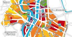 Immobilier à Lyon : la carte des prix 2018 Felix Faure, Rhone, Finance, Map, City Office, Real Estate, Cards, Location Map, Maps