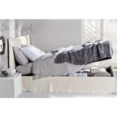 Ghost 80 E double #bed with #storage base by @gervasoni1882