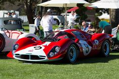 Ferrari 412 P - Chassis: 0854 - Entrant: James Glickenhaus - 2015 The Quail, a Motorsports Gathering