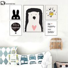 Bear, Balloon, Be Happy - Canvas Art Print https://nightynightbaby.com/bear-balloon-be-happy-canvas-art-print/ #nightynightbaby #babysleep #baby #babygirl #babyboy #nursery #nurserydecor #babyclothes #babyboutique #babystore #fashionbaby #trendybaby #bebe #bebedorme #kinder #beba #babies
